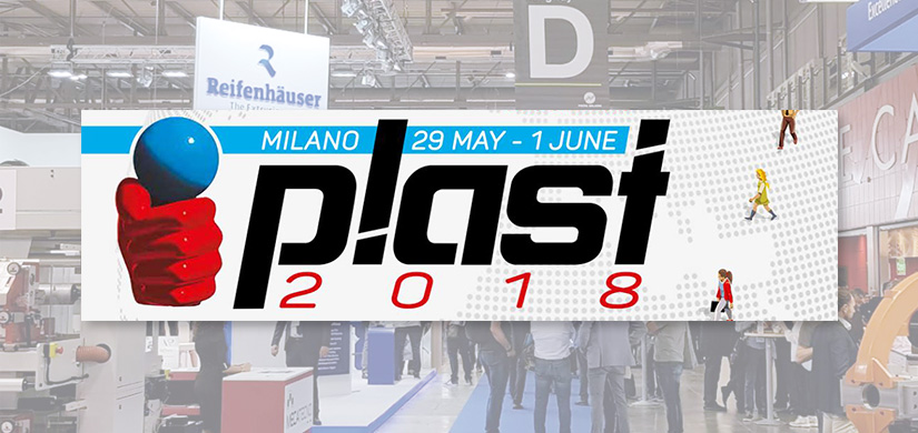 We would be delighted to see you at Plast Milano 2018