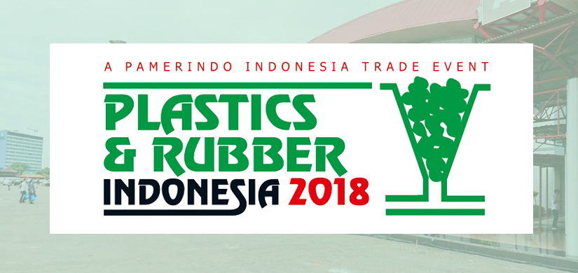 Check us on Plastics & Rubber Indonesia 2018